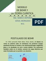 MODELO DE BOHR Y LA TEORÍA CUÁNTICA