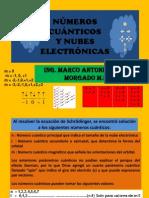 NÚMEROS CUÁNTICOS Y NUBES ELECTRÓNICAS