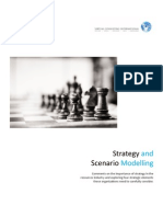 Strategy and Scenario Modeling