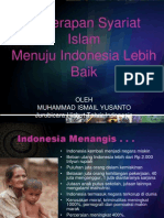 Syariah Islam (Ismail Yusanto)