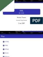 XML - M1 SIGE - 2007-05-02 XML