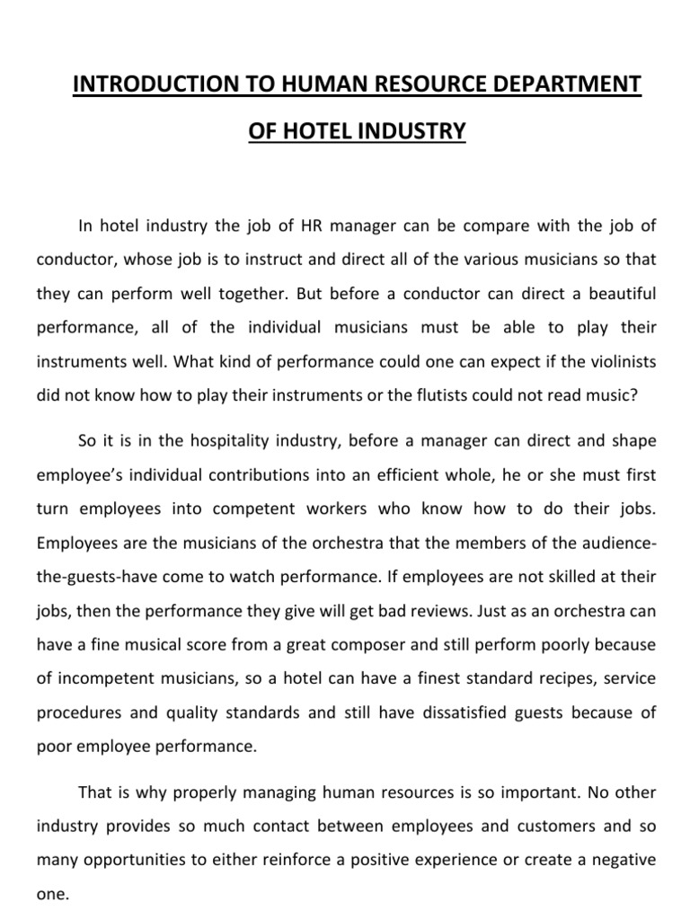 employee motivation in hospitality industry Staff training in hospitality sector is very trends in tourism and hospitality industry 440 appropriate employee structure engagement is necessary for all.