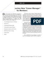 "IEEE-USA Launches New ""Career Manager"" for members"