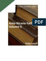 AAVV - Padri Della Chiesa Prima Di Nicea (Vol. VI) - Traduzione Inglese