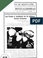 Las frutas y las verduras en la alimentación humana - Julio 1941.pdf