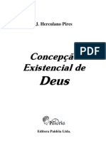 # - J Herculano Pires - Concepcao Existencial de Deus - [Livro Espirita]