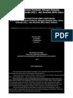 Analisa Dan Penentuan Partikulat