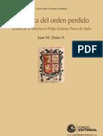 En Busca Del Orden Perdido La Idea de La Historia en F G Poma