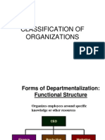 Classification of Organizations