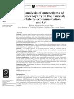Widya-Antecedents Loyalty Mobile Service Turkish
