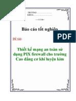 Bao Mat Voi Pix Firewall