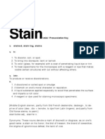 Stain Book Text