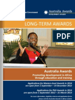 Australian scholarships