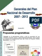 2- Plan Nacional de Desarrollo 2007 - 2013.ppt