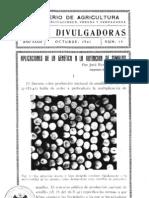 Aplicaciones de la genetica a la obtención de semillas- 1941