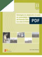 Estrategias de adaptación al medio en comunidades indígenas nicaragüenses