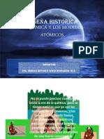 RESEÑA HISTÓRICA DE LA QUÍMICA Y LOS MODELOS ATÓMICOS