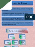 Environmnetal Science