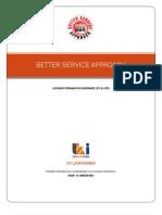 Better Service Approach