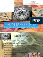Role of RBI in Indian Economy