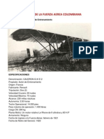 Historia de La Fuerza Aerea Colombiana