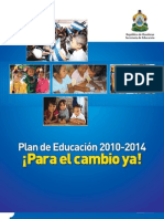 Plan de Educacion 2010-2014 honduras FINAL.pdf