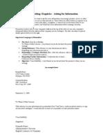 Business Letter 2 Enquiries