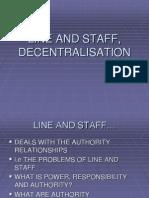 Line and Staff
