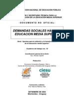 Demandas Sociales Hacia Ems
