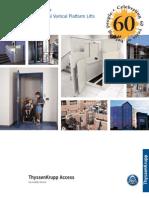 Porch Lift Brochure
