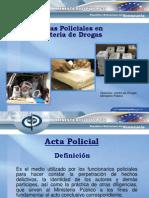Actas Policiales Ponencia Final