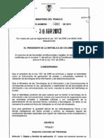 3 Decreto 0884 de 2012 Teletrabajo
