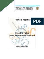 Consulta Union P-n Diodo Rectificador