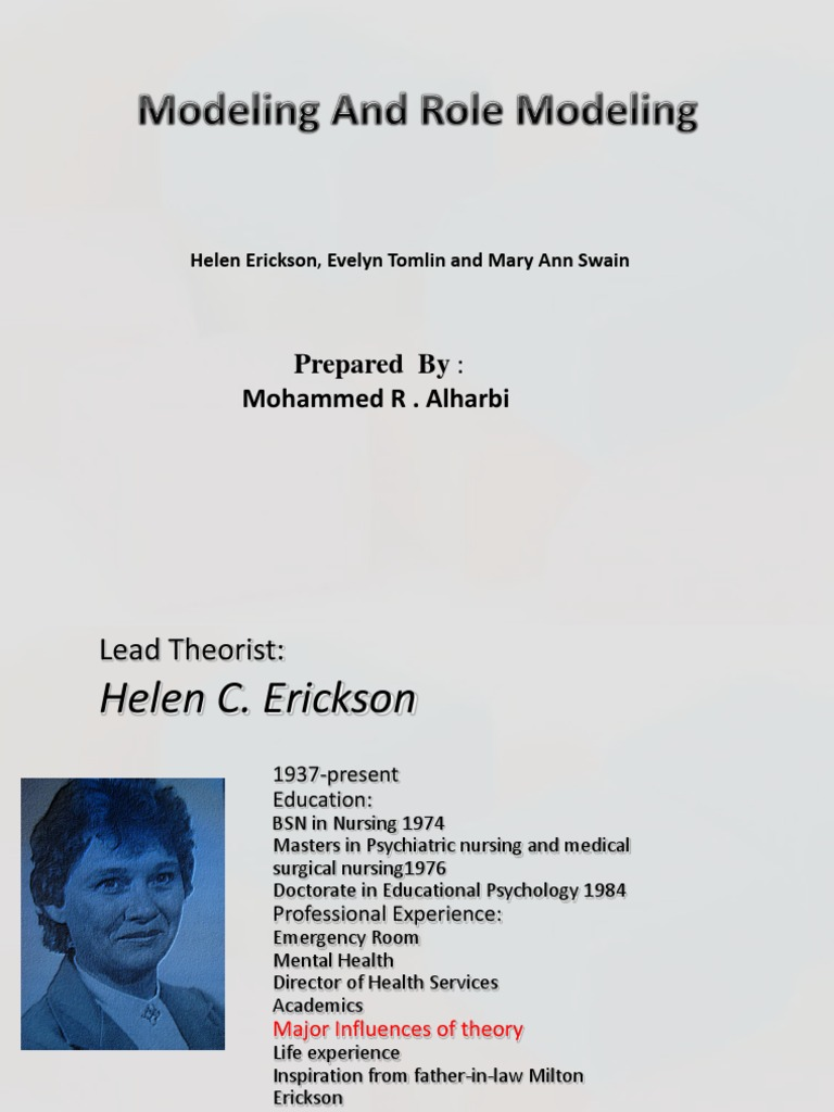 erickson theory Erik erikson's theory of psychosocial development and vocational behavior  journal of counseling psychology, 22(4), 314-319  .