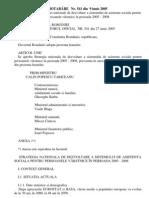 HG541-2005 Strategia nationala de dezvoltare a sistemului de asistenta sociala pentru persoanele vârstnice în perioada 2005 - 2008