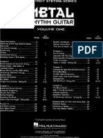 Heavy Methal Rhythm Guitar Volume 1