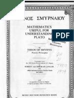 Mathematics for Understanding Plato