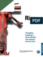 Rise Residential Elevator Brochure 2