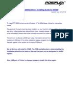PP6800U Installing Guide