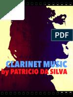 Sheet Music Clarinet Etude Patricio da Silva