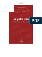 Les 4 imams fondateurs des écoles sunnites. ( Par Messaoud Boudjenoun )