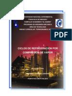 Tema II Ciclos de Refrigeracion Por Compresion de Vapor1