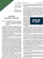 Decreto 142 2002 Aditivos alimentarios