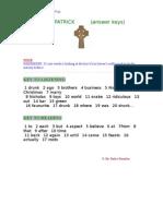Saint PAtrick KEYS