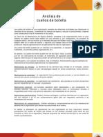 Analisis Cuello Botella