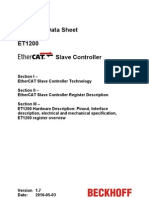 EtherCAT ET1200 Datasheet All v1i7