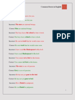 English Errors