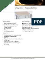 Optical Delay Line - RFOptic