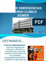 Curso Virtual Plan de Emergencias SOMER