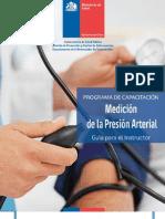 MEDICIÓN DE LA PRESION ARTERIAL